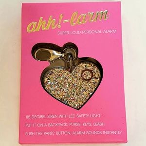 NIB Ahh!-larm Super-Loud Personal Alarm Key Chain